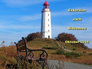 Exkursion nach Hiddensee, Leuchtturm